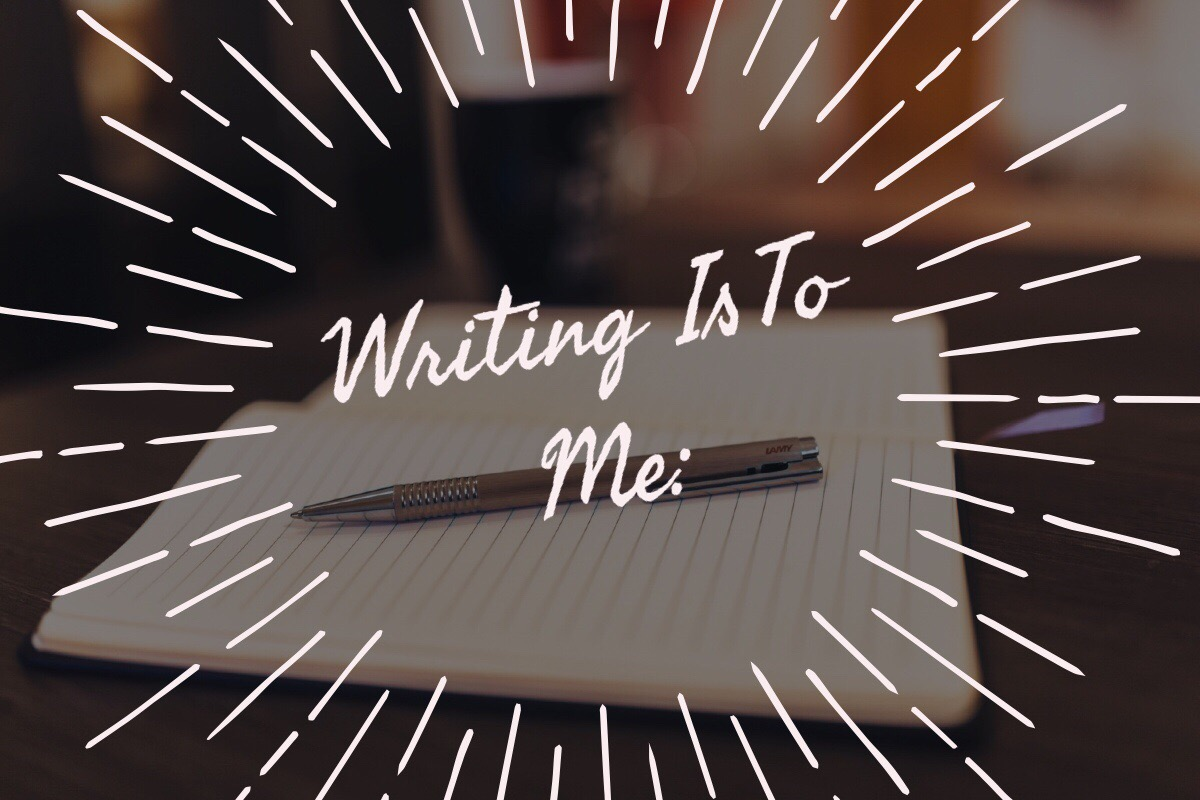 Writing to Me Is: