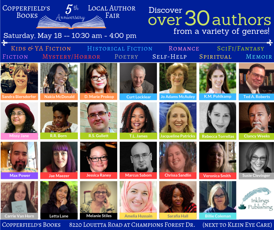 CopperfieldBooks2019 Author Overview